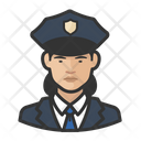 Female Police Officers Female Police Icon