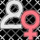 Female Profile Female User Female Account Icon