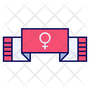 Woman Banner Icon