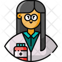 Researcher Pharmacist Avatar Icon
