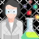 Female Scientist Scientist Avatar Icon