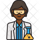 Female Scientist Icon