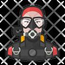 Female Scuba Diver Female Scuba Diver Icon