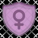 Female Shield Icon