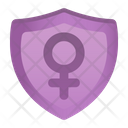 Female Shield Icon