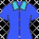 Female Shirt Clothes Girl Woman Cloth Icon