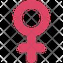 Female Sign Female Femenine Icon