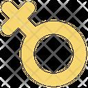Female Lesbian Sign Icon
