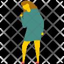Female Singer Woman Icon