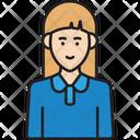 Female Staff Icon