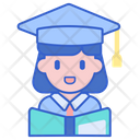 Student Female Graduate Student Avatar Icon