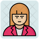 Female Student Female Student Icon