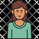 Female Student Icon