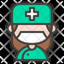 Female Surgeon Surgeon Doctor Icon