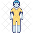 Female Swimmer Icon