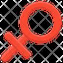 Female Symbol Faminini Female Sign Icon