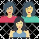 Female Team Icon