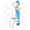 Female Technician Icon