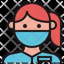 Female Therapist Doctor Icon