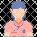 Female Vet Icon
