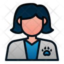 Female veterinarian Icon