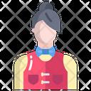 Aservice Woman Female Service Service Icon