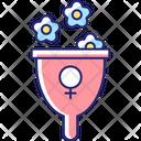 Femininity Symbol Icon