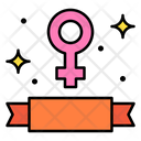 Feminism Female Symbol Womans Day Icon