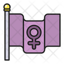 Feminism Flag Icon
