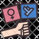 Feminism Freedom Icon