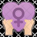 Feminism Women Day Icon