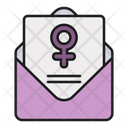 Mail Letter Message Icon