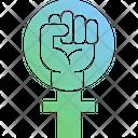 Feminism Protest Icon