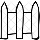 Fence Garden House Icon