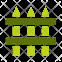 Fence Garden Farm Icon