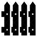 Fence Hedge Palisade Icon