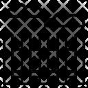 Fence Border Area Icon