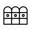 Fence Picket Barrier Icon