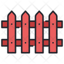 Fence Barrier Security Icon