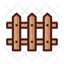 Fence Wooden Fence Palisade Icon