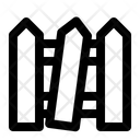 Fence Spooky Halloween Icon