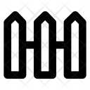 Fence Architecture Security Icon