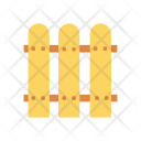 Fence Boundary Barrier Icon