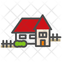 Fence Apartment Home Icon