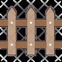 Picketm Fence Fencewood Icon