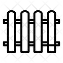 Fence Barrier Picket Icon