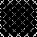 Picket Fence Garden Icon