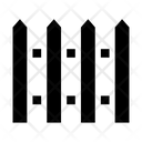Garden Picket Picket Fence Icon