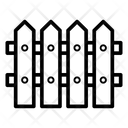 Fence Arrowhead Barrier Garden Protection Icon