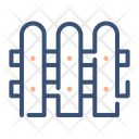 Fence Barrier Rail Icon